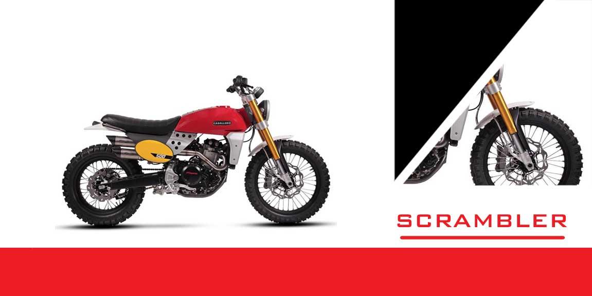 motocykle scrambler
