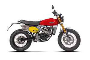 Motocykl Scrambler moto 125
