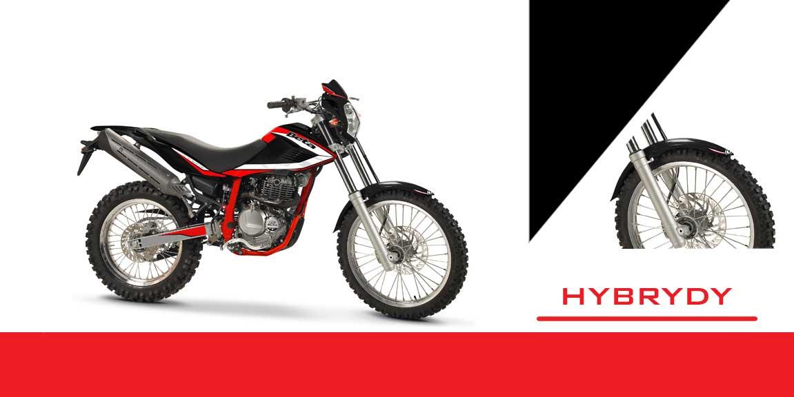 motocykle hybrydy