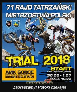 Rajd Tatrzanski zawody trial